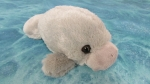 "7"" Fluffy Manatee Plush"