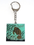 Manatee Key Chain
