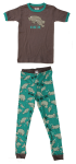 Youth Pajama NO WAKE ZONE pants and top set