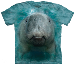 Big Manatee Face Shirt-Adult