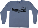 Canoe Print Long-Sleeve Tee