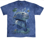 Big Manatee Collage Shirt-Youth