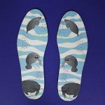 Manatee Shoe Insoles