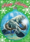 Manatee and Otter Holiday Cards